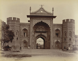 Hamid Gate, Fort, [Rampur]
